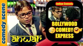 Rajpal Yadav Comedy Scene - Bollywood Comedy Express - Anwar - Indian Comedy