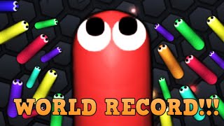 Playing Slither.io for 1 Year (World Record)