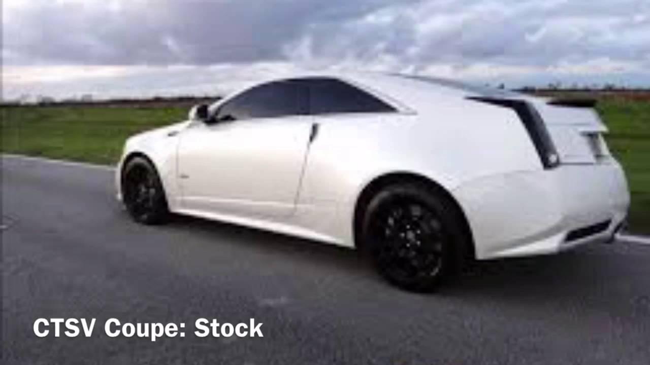 Ls3 C6 Corvette Vs Lsa Cts V Coupe