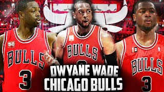 Dwyane wade signs with the chicago bulls!