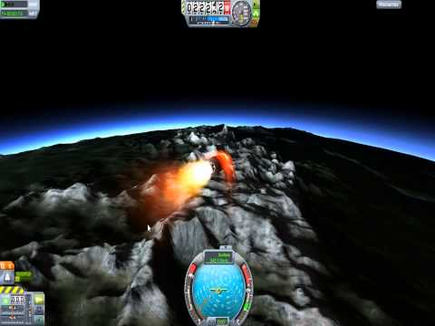 SSN Kerbal Nuclear Submarine Trident Missile Mk3