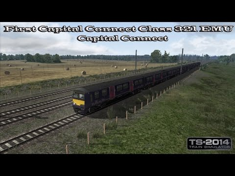 Train Simulator 2014 - Career Mode - First Capital Connect Class 321 EMU - Capital Connect Part 4 |