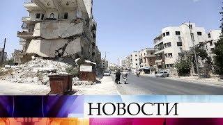 Сообщения о химатаках в Сирии являются прикрытием для попыток террористов расшатать обстановку.