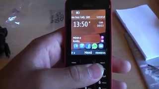 Nokia 208 unboxing