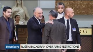 Iran Nuclear Deal Deadlocked Over Arms