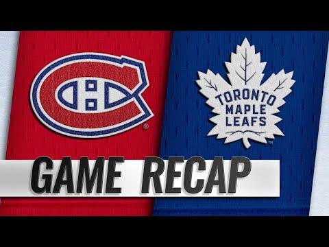 Matthews' second goal powers Leafs past Habs in OT