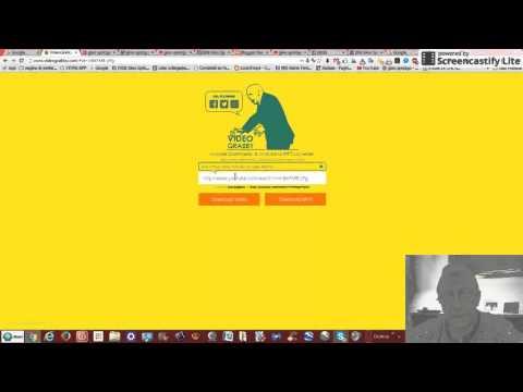 Tutorial come scaricare video da youtube con VIDEOGRABBY