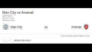 Live Score : Manchester City Vs Arsenal, 18th December 2016 , EPL 2016/17