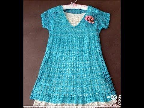 Crochet Patterns| Free |crochet baby dress| 2562