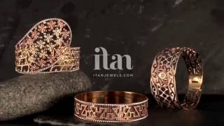 Rose Gold Bangles by Itan