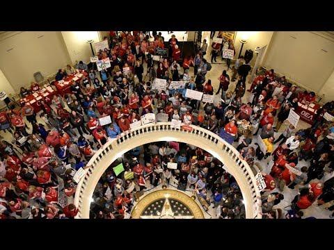 Oklahoma teacher strike expected to continue into Wednesday