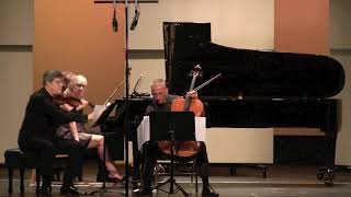 Piano Trio by Charles Ives-Part 1: played by The Emerson Trio