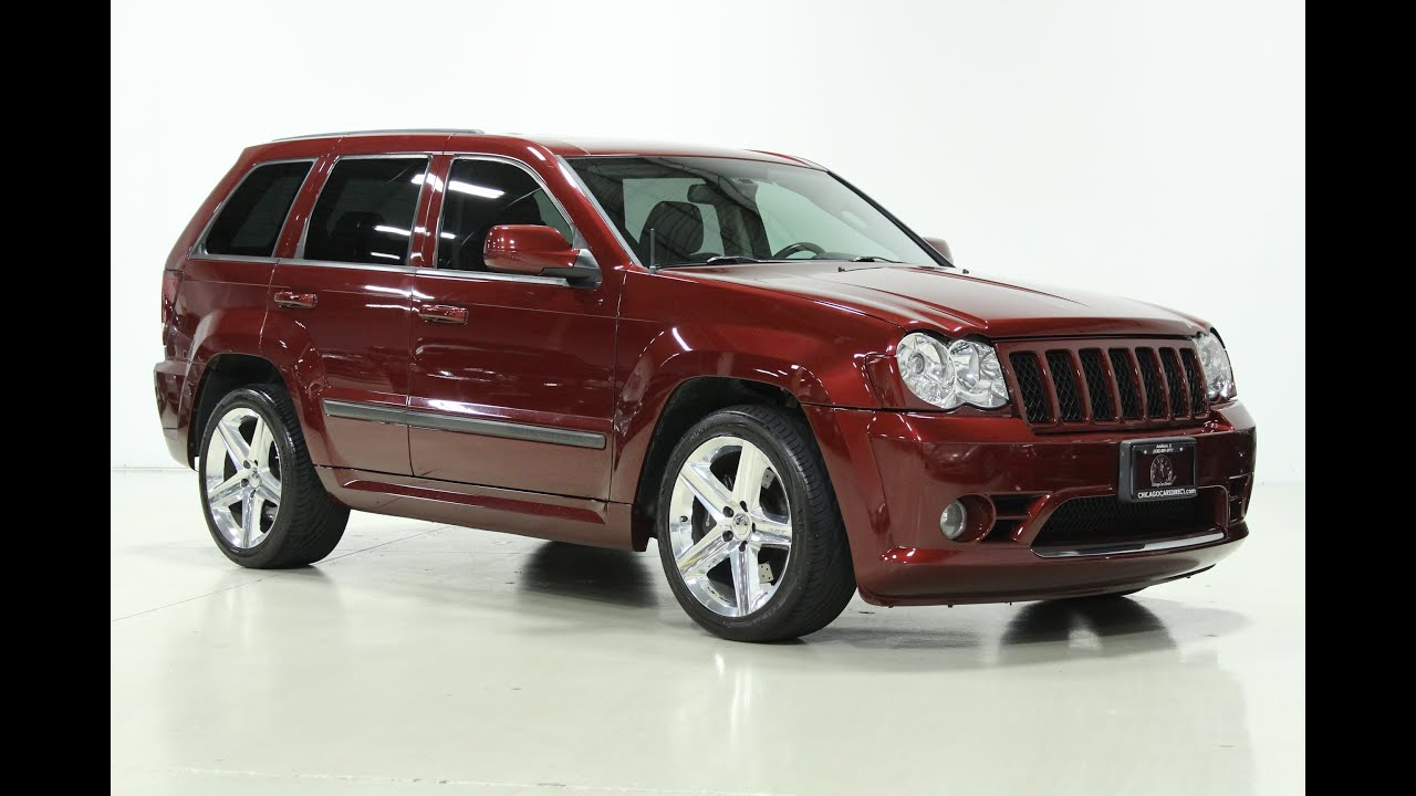 chicago cars direct presents a 2008 jeep grand cherokee srt8 in