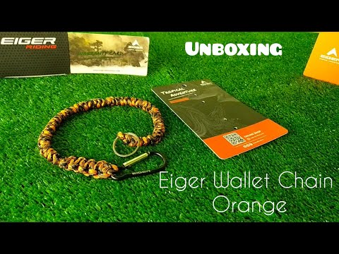Eiger Wallet Chain Orange from YouTube · Duration:  3 minutes 38 seconds