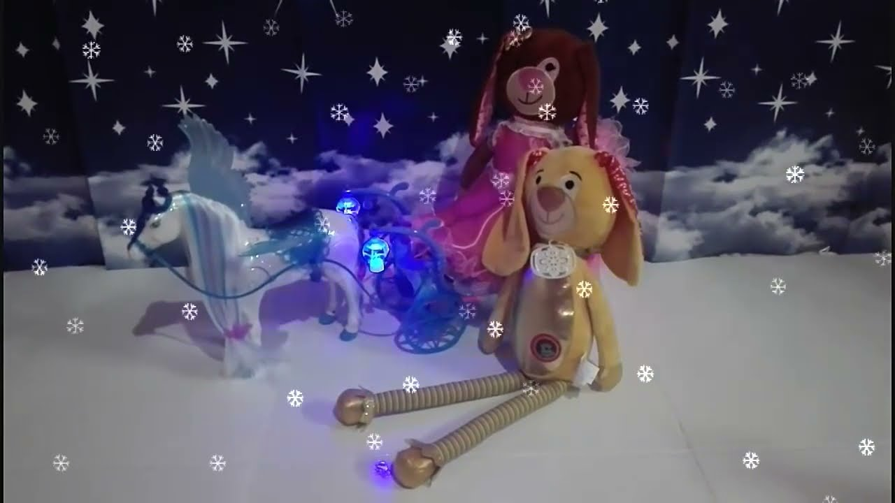 Goldy 🐶 cumple el sueño de Chocolata 🐶 con el carruaje de Barbie