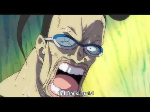 Mr. 3's reaction hearing Mr. 2  in Impel Down.