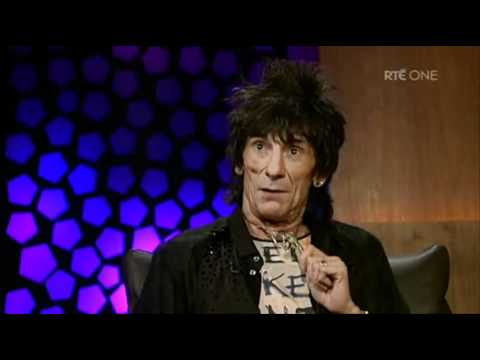 Rolling Stones Legend talks to Ryan on the Late Late Show