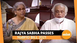 NaBFID bill passed: Opposition says lack of oversight, Sitharaman counters