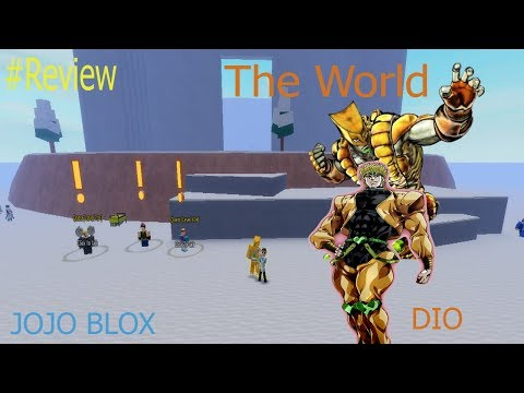 JoJo Blox [UPDATE 5 5] [ Silver Chariot ] : Review THE WORLD