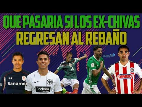 Si Regresaran Los Ex-Chivas ¿Dominarían la Liga mx? FIFA 18