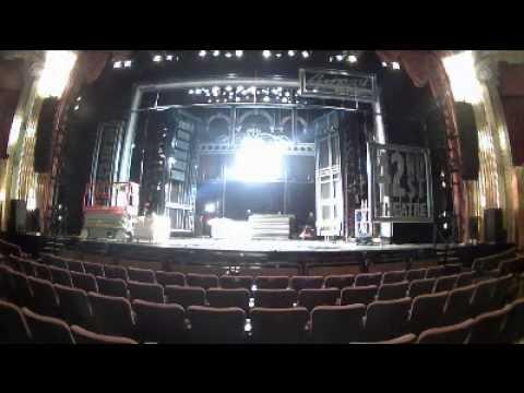 42ND STREET Time Lapse - Paramount Theatre, Aurora IL