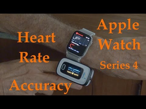 Apple Watch Series 4 Heart Rate Accuracy VS Pulse Oximeter