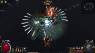 Shaped Belfry T15 + Lich Boss Frost Blades Showcase   Path of Exile