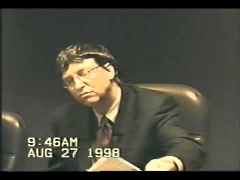 Bill Gates - Deposition Part 1 of 12
