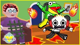 Roblox Escape Grandmas House Let's Play with VTubers Combo Panda Vs Gus