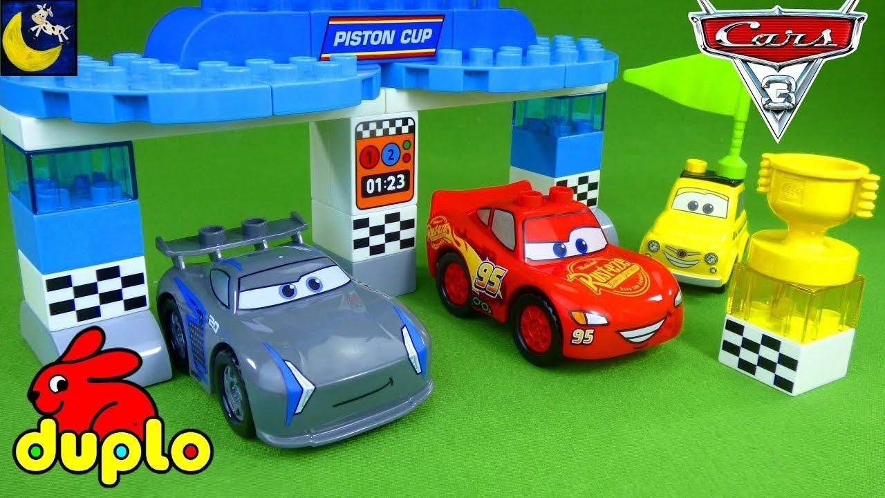 Wonderbaar Lego Duplo Disney Cars 3 Race Toys Unboxing Lightning McQueen NK-67