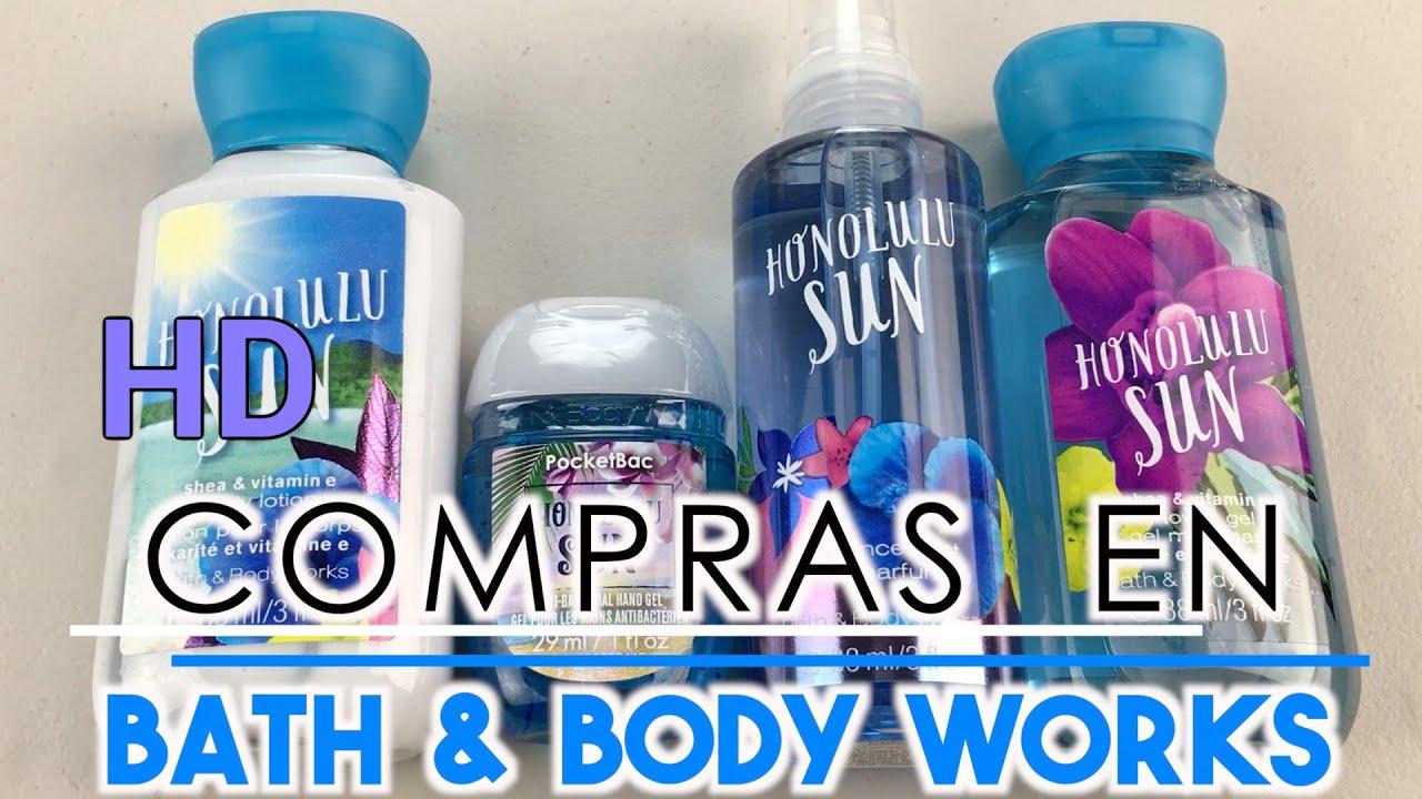 Compras En Bath Body Works Mexico Mariana Malex Youtube