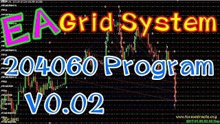 Forex Expert Advisor (EA) for Metatrader4 (MT4) : 204060 Program V0_02 EA Grid System