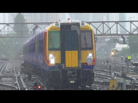 South West Trains Class 458/5 Juniper Ride: Clapham Junction to Barnes (via Hounslow) - 02/08/17