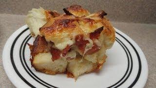 Pull-Apart Bacon Bread
