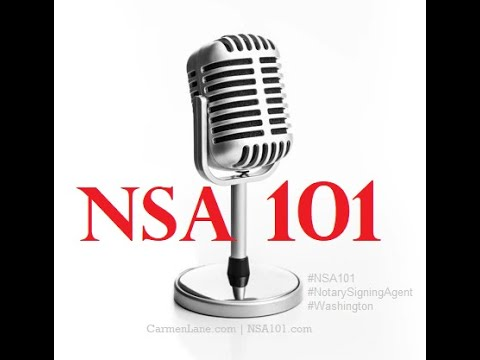 NSA 101: Shipping Loan Documents
