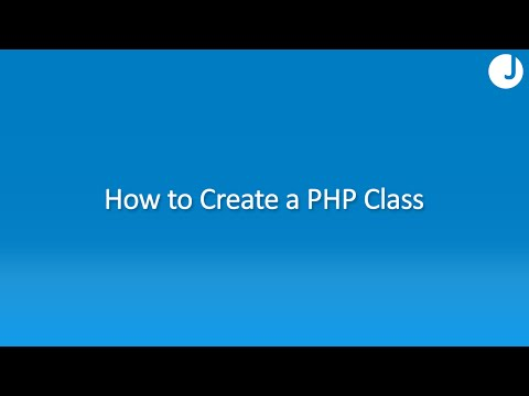 How to Write a PHP Class