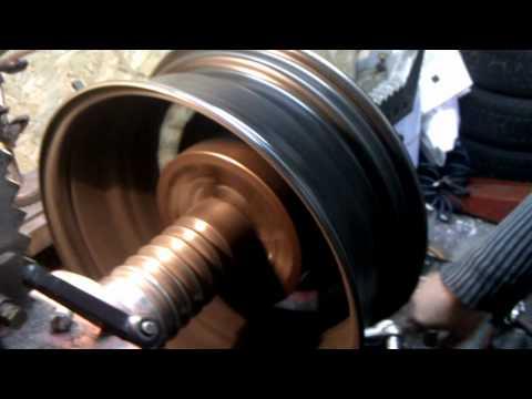 Prostowanie felgi stalowej