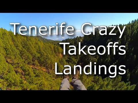 Tenerife | Crazy Takeoffs And Landings