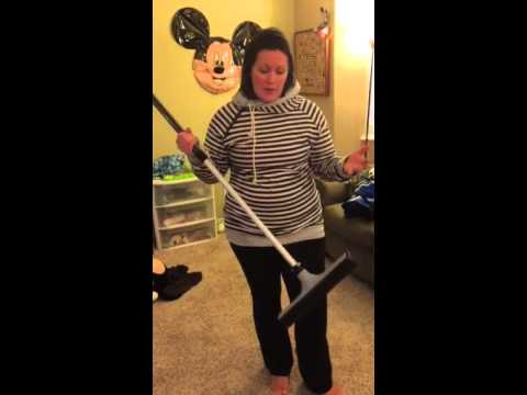 H2O at Home Rubber Bristle Broom Demo- BEST BROOM EVER!!
