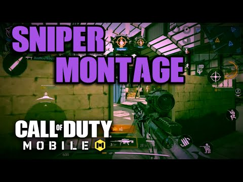 Call Of Duty Mobile Sniper Montage