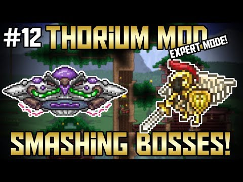 2 Boss Take Downs! Thorium Mod Expert Mode Bard Let's Play! ||Episode 12||