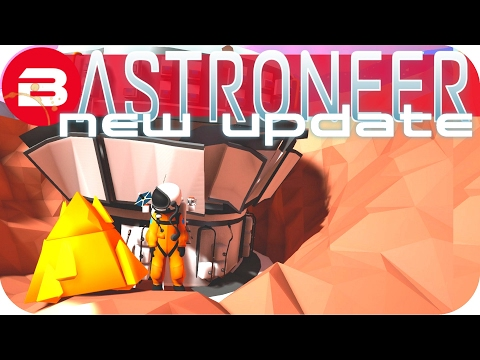 Astroneer Gameplay - NEW UPDATE, ITEMS, RESEARCH, SOUNDS & MORE! Lets Play Astroneer Experimental