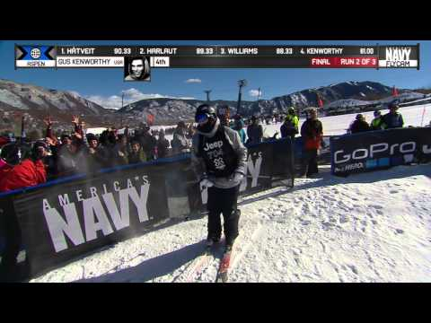 Gus Kenworthy lands triple in Slopestyle - Winter X Games