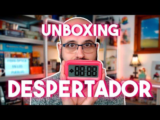 ⏰ UNBOXING DE DESPERTADOR | La subred de Mario