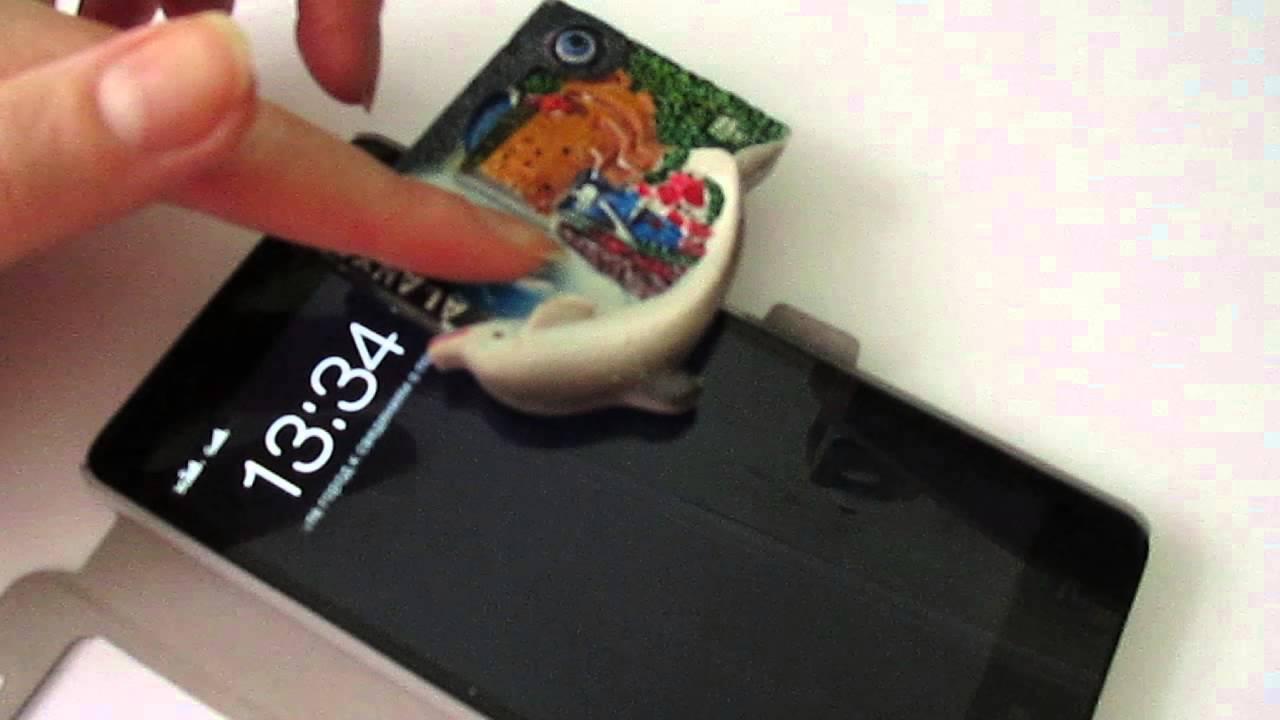 Есть ли датчик Холла в смартфоне Lenovo K3 Note. Ищем ответ с помощью магнитика на холодильник.