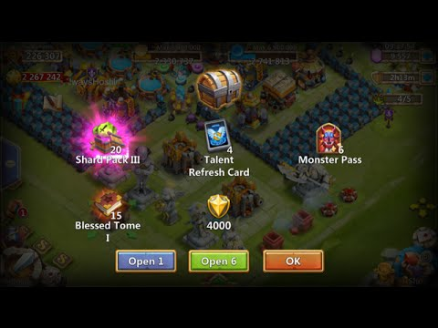 Opening 50+ Lava 3 Chests SWEET Rewards Castle Clash