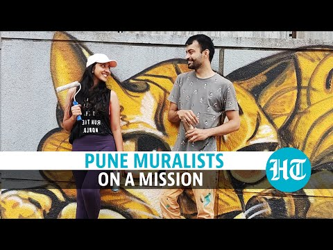 Two Pune artists are on a mission to clean and paint the city