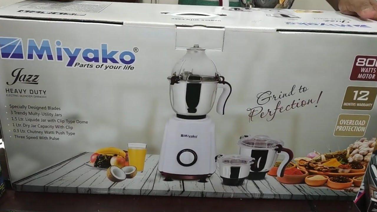 Miyako হেভি ডিউটি ব্লেন্ডার সেট(Miyako heavy duty blender set)