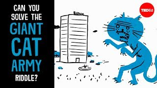 Can you solve the giant cat army riddle?  Dan Finkel