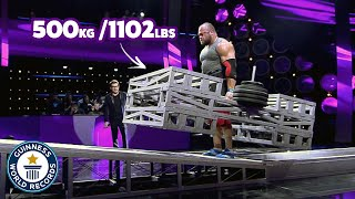 Baixar Epic strongman incline lift battle - Guinness World Records